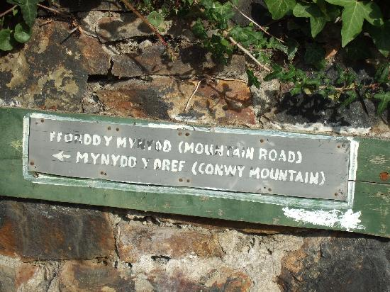 Conwy Mountain: Welcome to Conway Mountain.