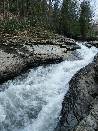 Ohiopyle, PA: Natural Waterslide
