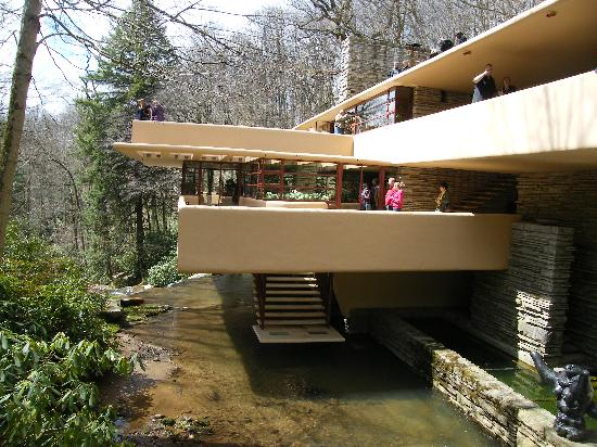 House Over The Stream Picture Of Fallingwater Mill Run