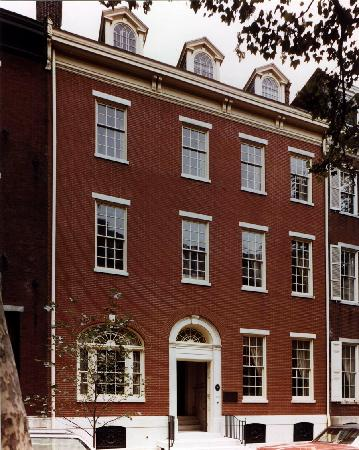 Rosenbach Museum and Library: Outside of the Rosenbach Museum & Library on historic Delancey Place