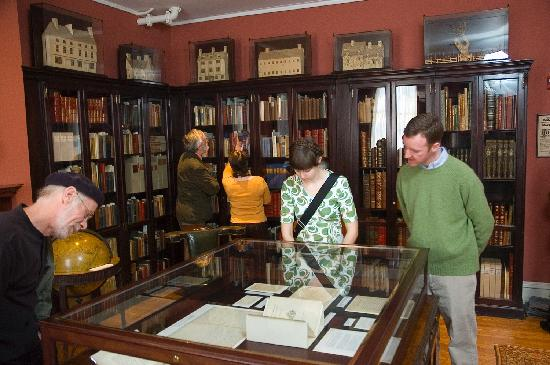 Rosenbach Museum and Library: Inside the library at the Rosenbach Museum