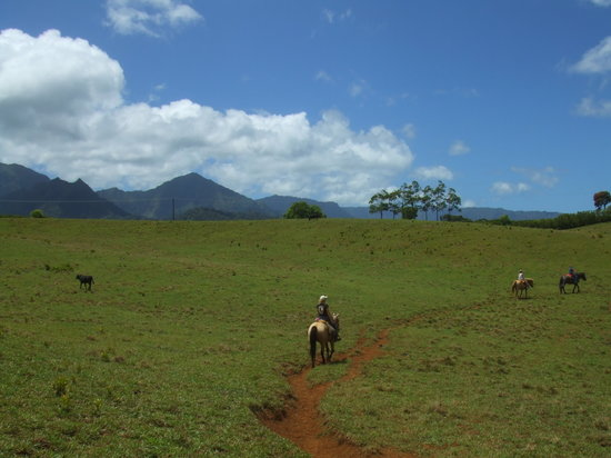 Princeville, Havai: Riding back