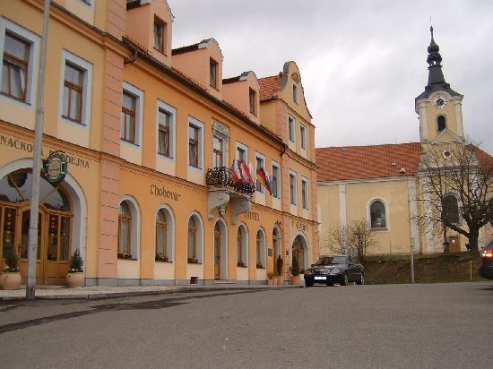 Chodova Plana, Τσεχική Δημοκρατία: Front of U Sladka