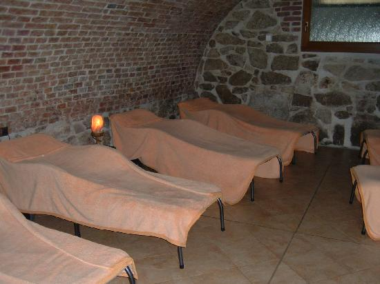 Hotel U Sladka: Relaxation Room in spa.