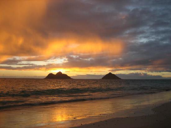 Lanikai Beach : Sunrise 09/07