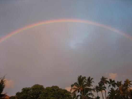 Lanikai Beach: Rainbow