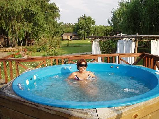 Rumbo 90 Delta Lodge & Spa : Rumbo90-Eneljacuzzi