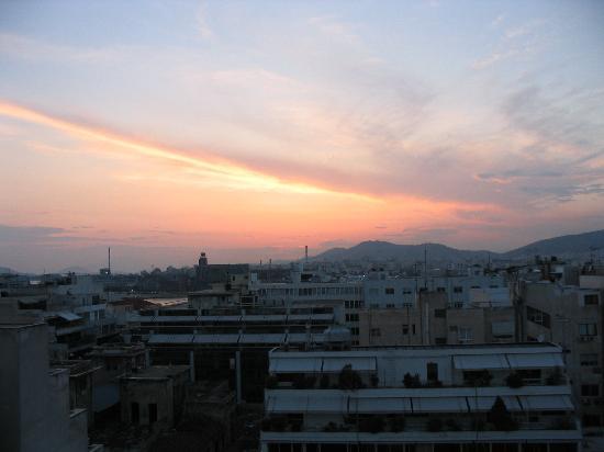 The Park Hotel : vue sur les toits du Pirée