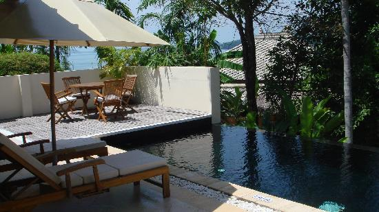 Chandara Resort & Spa: Private pool outside unit