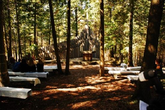 Drummond Island Resort and Conference Ct: The Outdoor Chapel