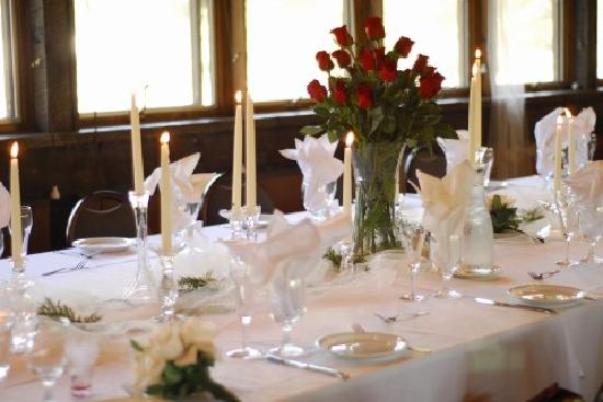 Drummond Island Resort and Conference Ct: Reception table