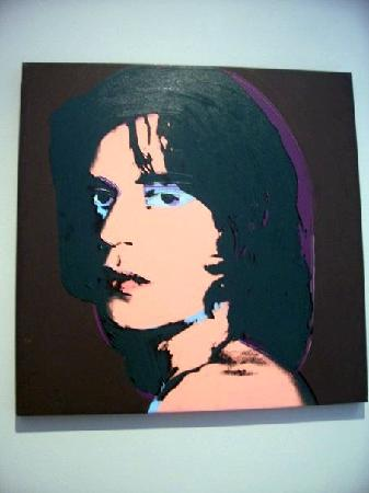 mick jagger by andy warhol picture of new orleans museum of art