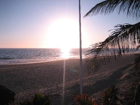 Hacienda Vayma: beautiful sunset at VAyma