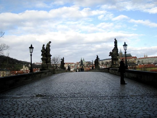 Tjeckien: Charles Bridge