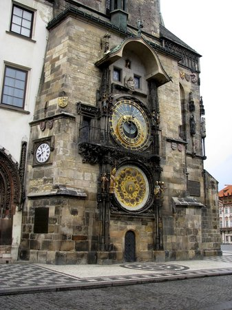 Tjeckien: The Clock on the Old Square