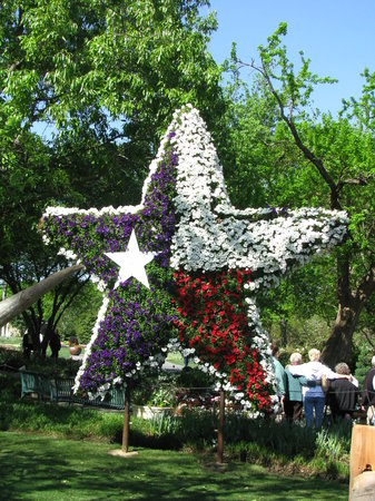 Dallas Arboretum & Botanical Gardens: Dallas Blooms - Texas Star