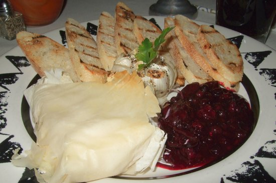 Painted Pony: phyllo baked brie $12
