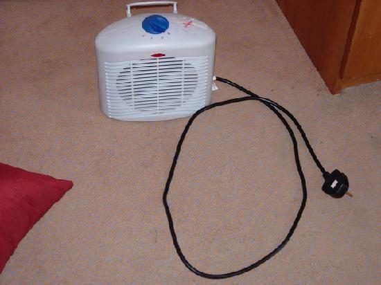 โรงแรมคอพธอร์น นิวคาสเซิล: Unchecked heater