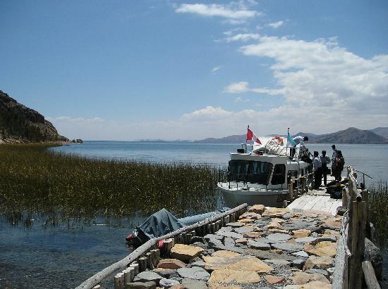 Isla Suasi: Hafen in Suasi