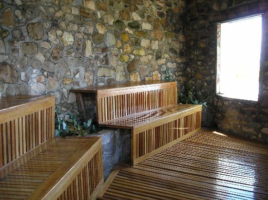 Isla Suasi: Sauna