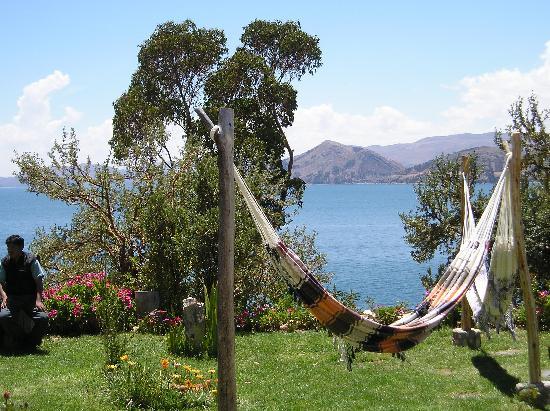Isla Suasi Hotel: Blick auf's Festland