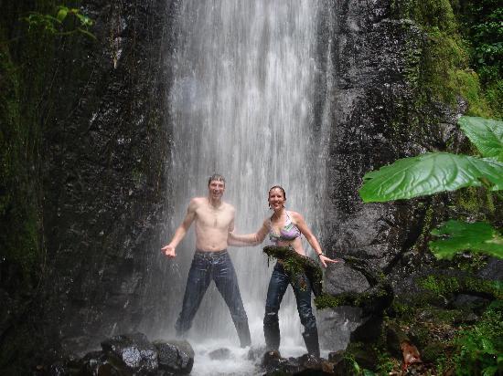 Ibarra, Ecuador: waterfall!