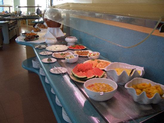 Hotel Lodomar Spa & Talasoterapia: Small selection of the breakfast buffet