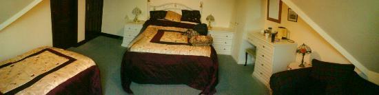 Rowan Lodge: our room