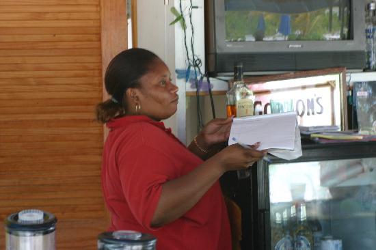 Blue Water Resort on Cable Beach: Tiki Bar Hostess - Nika