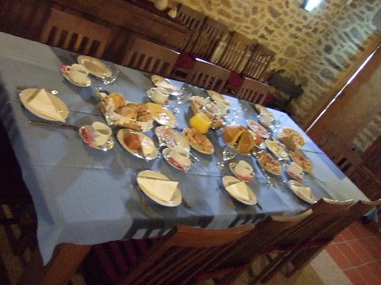 Moinhos da Tia Antoninha: breakfast