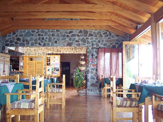 Lomas de Tzununa: The restaurant