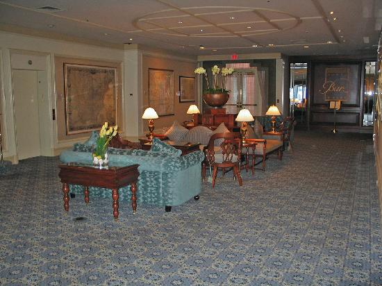 Hotel Boston Map.Boston Map Room Rowes Wharf Lounge Entrance In Background Picture