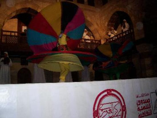 Whirling Dervishes in Wikala El-Ghouri