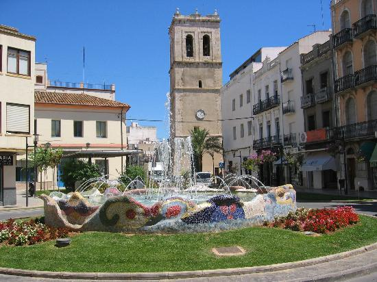 Vinaròs, España: Plaza Jovellar