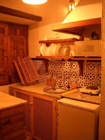 Casa Del Aljibe Guest House : Kitchenette