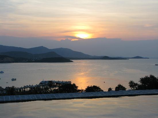 Samui Sunset Villas : Sunset
