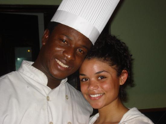 Tropical Princess Beach Resort & Spa: Keeshia and Pasta Man..smile
