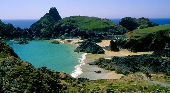 Cornualles, UK: Kynance Cove