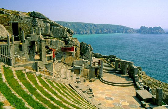 Графство Корнуолл, UK: Minack Theatre, Porthcurno, Cornwall