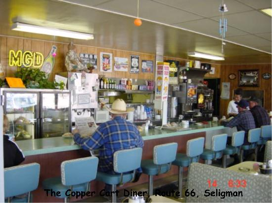 Copper Cart Restaurant: In the Copper Cart