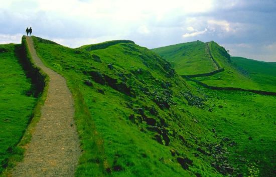 Northumberland National Park, UK: Hadrian's Wall, Northumbria