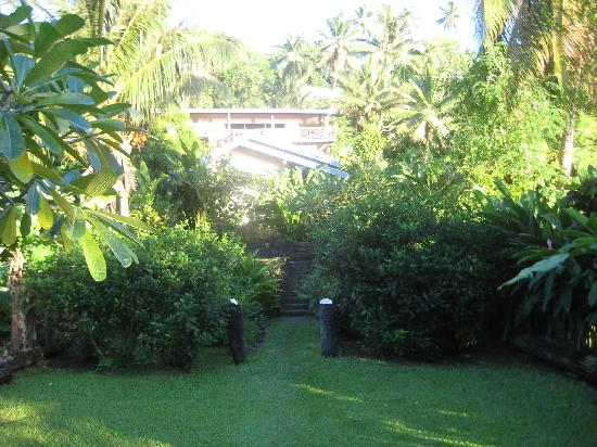 Levuka, Fiji: Front of the Homestay