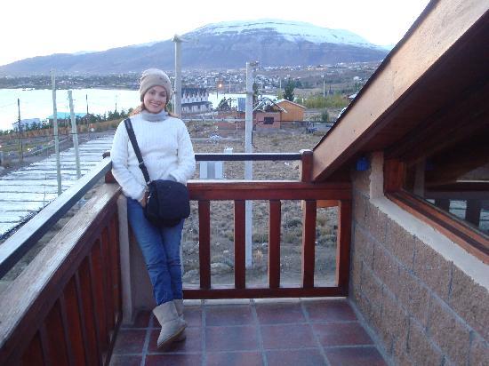 Hosteria Koi Aiken: Hermosa vista del cerro desde la terraza