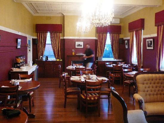 Branxton Hotel : dining room