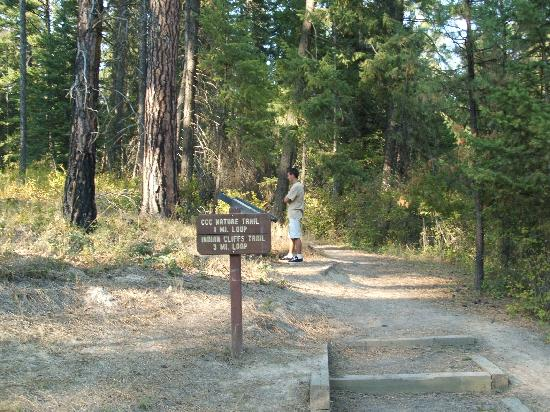 Heyburn State Park: Indian Cliffs Nature trail
