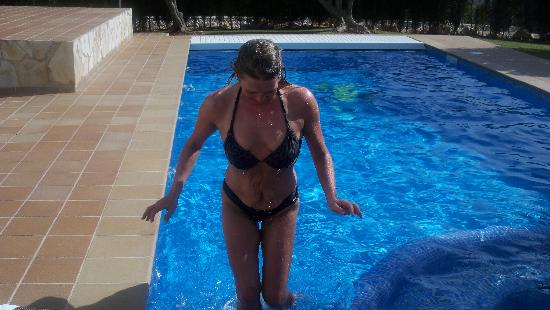 Son Bou, Spain: The pool heating would have been a good idea
