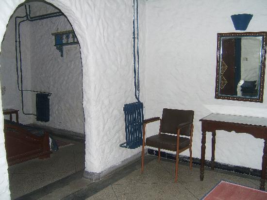 Hotel Sahara : Inner rooms, no windows but heating