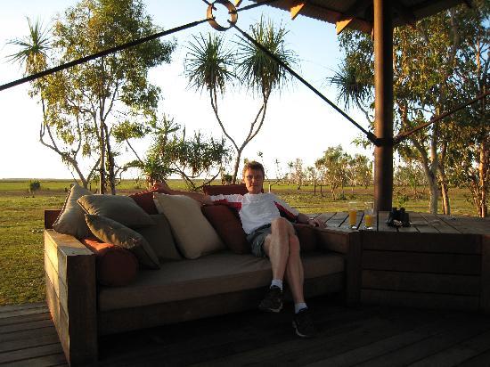Bamurru Plains: près de la piscine