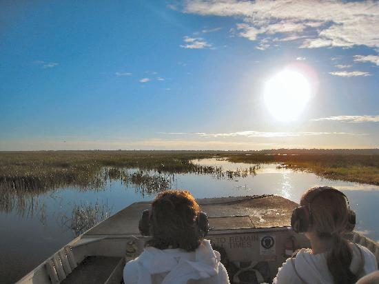 Bamurru Plains: sur l'eau