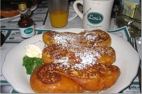 Lou's Restaurant and Bakery: Crueller French Toast